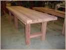 Furnishings, Table, Custom Redwood, Dining Table, Outdoor Table, Interior Design, Rustic Design, Custom Orders, Fine Furniture